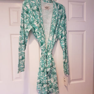 NWT UGG Clio Floral Robe Size XL $110